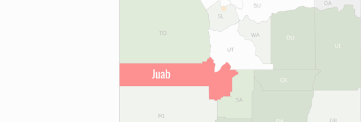 Juab County Map